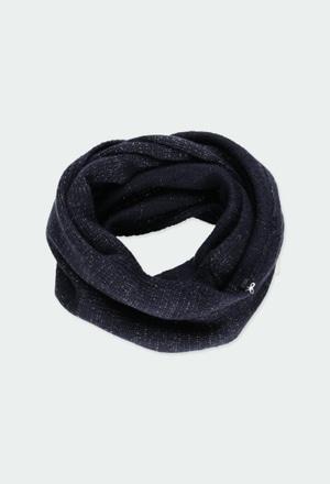 Écharpe en tricot pour fille_1