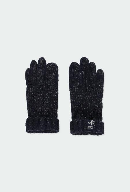 Luva tricot para menina_1