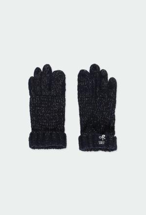 Strick handschuhe für mädchen_1