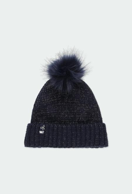 Gorro tricot para menina_1