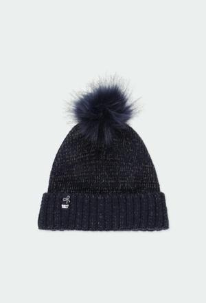 Bonnet tricoté pour fille_1
