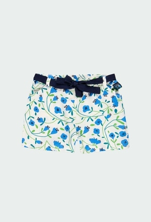 Shorts floral for girl_1