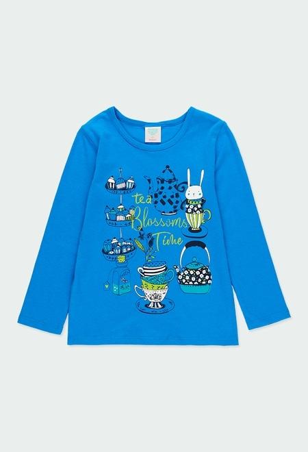 Pack en tricot fleurs pour fille_1