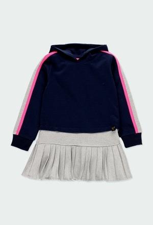 Vestito jersey per ragazza_1