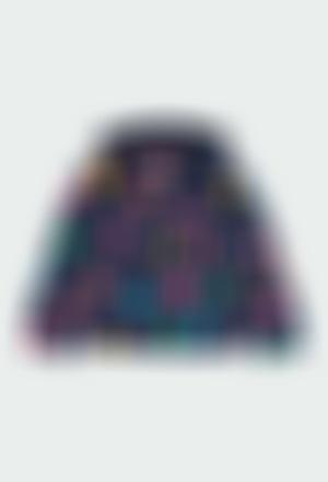 "Fleece jacket ""letters"" for girl"