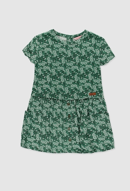 Viscose dress for girl_1