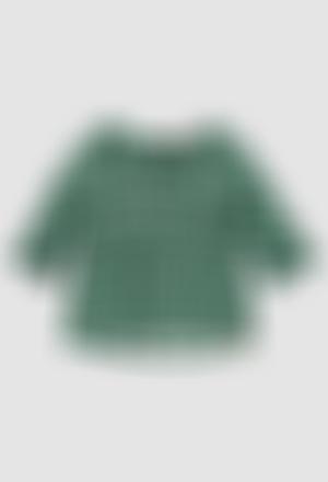 Blusa viscosa de niña