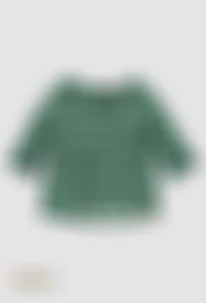 Blusa viscose para menina