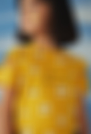 Camiseta punto elástico de niña
