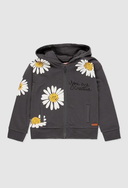 Fleece jacket stretch for girl_1