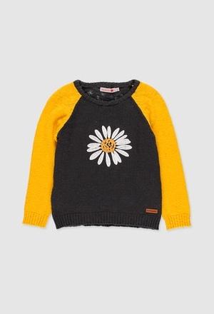 Jersey tricotosa de niña_1
