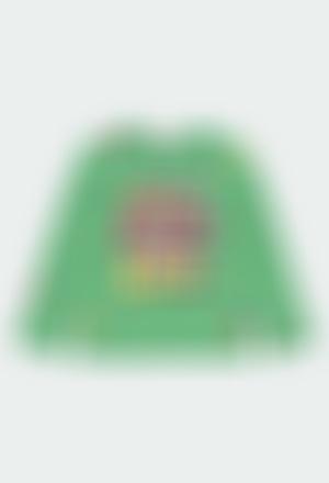 T-Shirt tricot pour fille