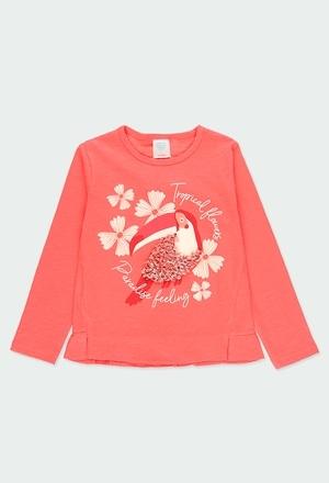"Camiseta punto ""paradise"" de niña_1"