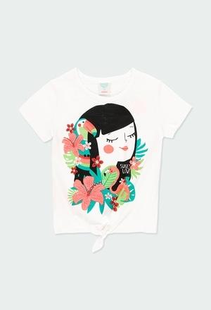 boboli Camiseta Punto Corazones de beb/é ni/ña Modelo 212016