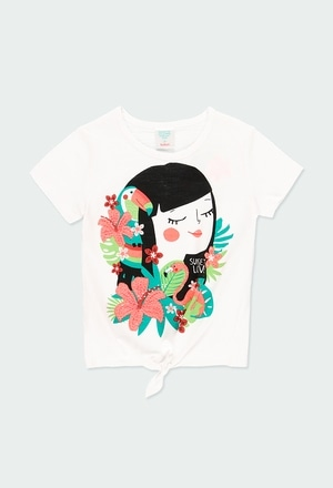 Knit t-Shirt for girl_1