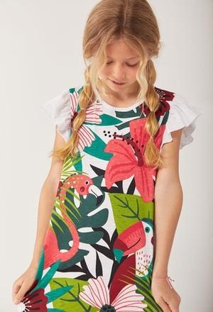 Vestido malha para menina_1