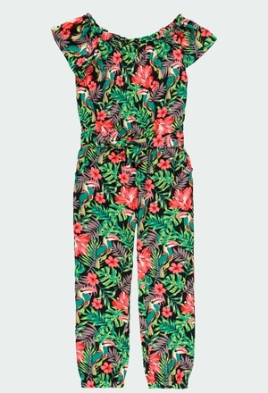 Viscose jumpsuit for girl_1