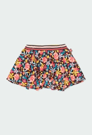 Viella skirt floral for girl_1