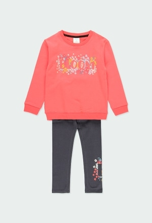 """Pack knit combined """"floral"""" for girl_1"""