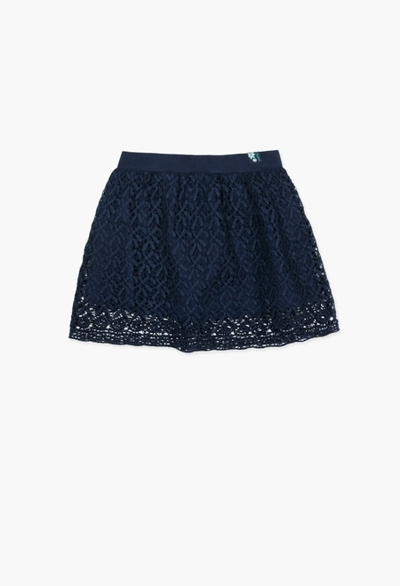 Skirt lace for girl_1