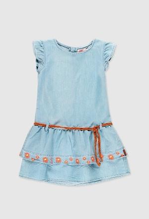 Vestido denim de niña_1