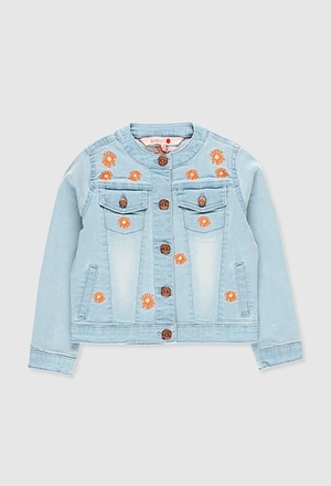 Denim jacket for girl_1