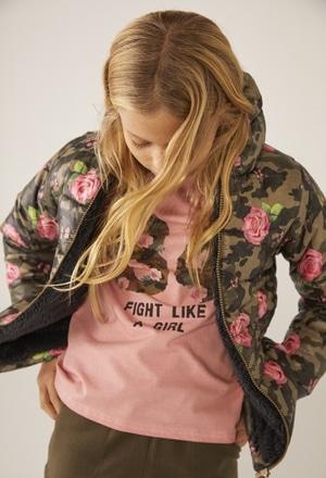 """Maglietta jersey elastico """"84"""" per ragazza_1"""