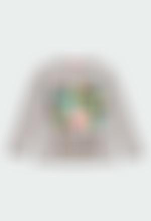 Camiseta malha para menina