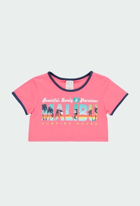 """Camiseta punto """"surfing"""" de niña_1"""