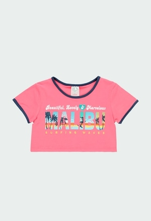 """Knit t-Shirt """"surfing"""" for girl_1"""