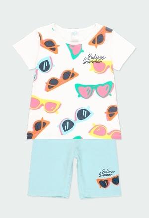 """Pack malha """"óculos"""" para menina_1"""