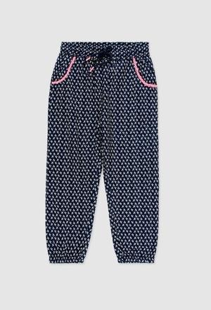 Pantalón viscosa de niña_1