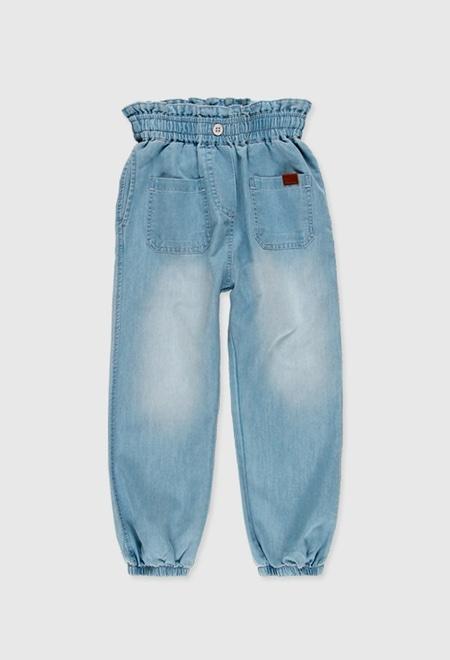 Pantalón denim de niña_1
