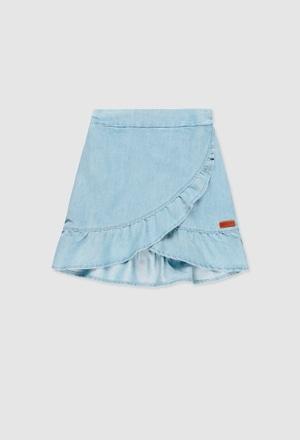 Jupe jean pour fille_1