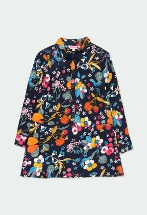 Vestido viella flores de niña_1
