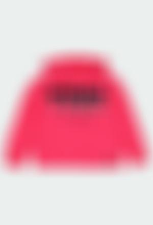 """Sweatshirt felpa elástica """"letras"""" para menina"""