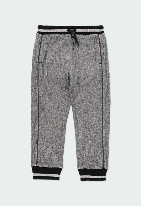 Fleece trousers fantasy for girl_1