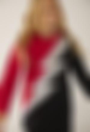 Fleece dress hooded for girl