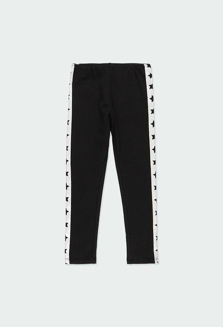 """Leggings knit """"stars"""" for girl_1"""