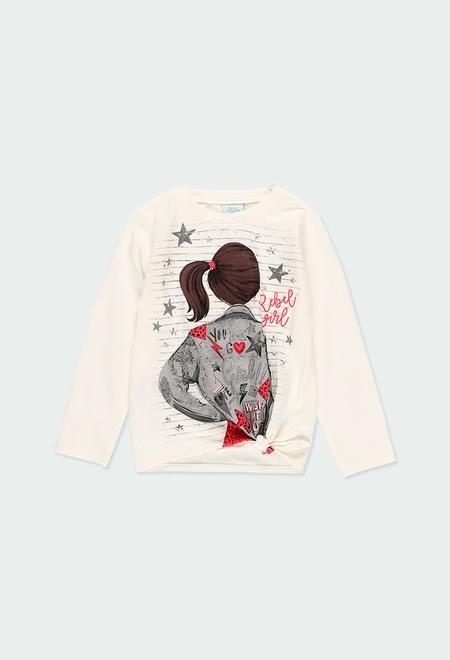 Knit t-Shirt for girl_1