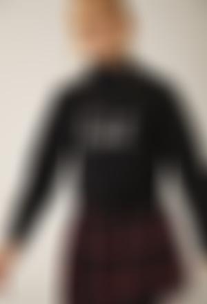 Fleece sweatshirt for girl