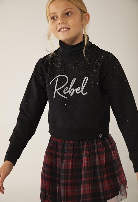 Sweatshirt felpa para menina_1
