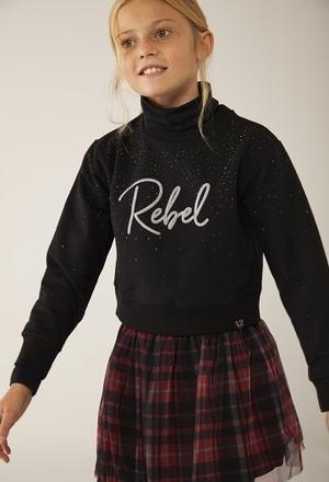 """Sudadera felpa """"Rebel Girl"""" de niña_1"""