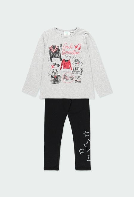 """Pack knit """"rock in concert"""" for girl_1"""