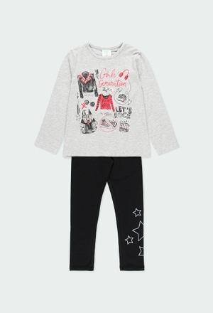 "Pack en tricot ""rock in concert"" pour fille_1"