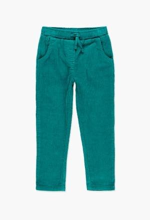 Corduroy trousers for girl_1