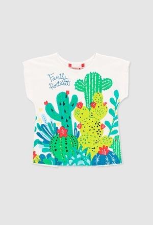 T-Shirt gestrickt flame für mädchen_1