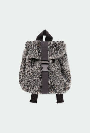 Backpack fur for girl_1