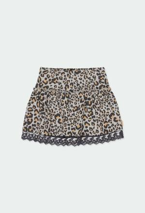 Fleece skirt for girl_1