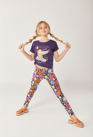 """T-Shirt tricot """"chaussures"""" pour fille_1"""